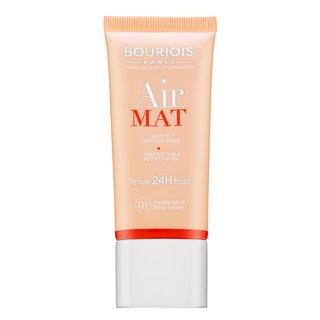 Bourjois Air Mat 24H Undetectable Matte Finish - 01 Rose Ivory fond de ten lichid pentru efect mat 30 ml