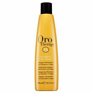 Fanola Oro Therapy Oro Puro Illuminating Shampoo sampon hranitor pentru toate tipurile de păr 300 ml