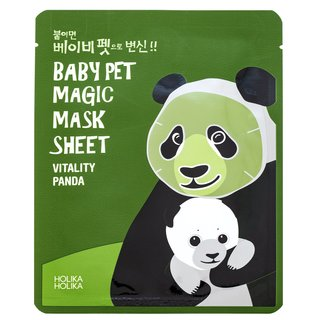 Holika Holika Baby Pet Magic Mask Sheet Vitality - Panda ser de modelare pe abdomen, coapse și fese