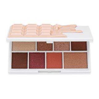 I Heart Revolution Mini Chocolate Shadow Palette Nudes paletă cu farduri de ochi 10,2 g