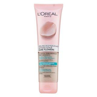 L´Oréal Paris Skin Expert Rare Flowers Refining Scrub gel de peeling pentru piele normală / combinată 150 ml