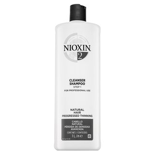 Nioxin System 2 Cleanser Shampoo sampon de curatare pentru păr normal și fin 1000 ml