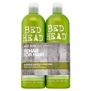 Tigi Bed Head Urban Antidotes Re-Energize Shampoo & Conditioner șampon și balsam pentru toate tipurile de păr 750 ml + 750 ml