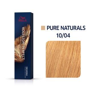 Wella Professionals Koleston Perfect Me+ Pure Naturals vopsea profesională permanentă pentru păr 10/04 60 ml
