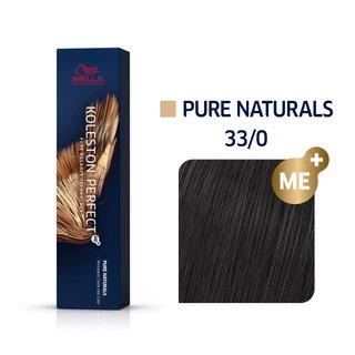 Wella Professionals Koleston Perfect Me+ Pure Naturals vopsea profesională permanentă pentru păr 33/0 60 ml