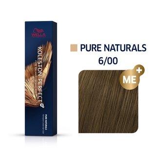 Wella Professionals Koleston Perfect Me+ Pure Naturals vopsea profesională permanentă pentru păr 6/00 60 ml