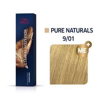 Wella Professionals Koleston Perfect Me+ Pure Naturals vopsea profesională permanentă pentru păr 9/01 60 ml