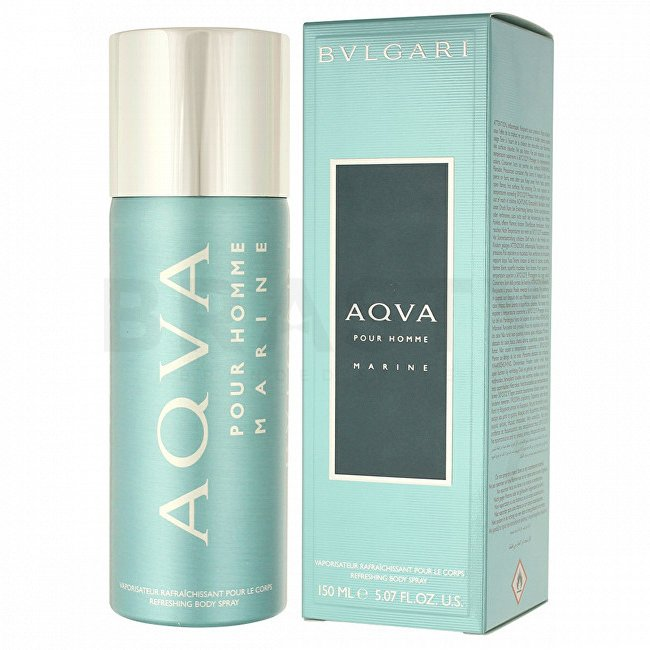 Bvlgari AQVA Marine Pour Homme Spray de corp bărbați 150 ml