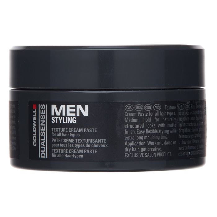 Goldwell Dualsenses For Men Texture Cream Paste pasta modelatoare pentru toate tipurile de păr 100 ml