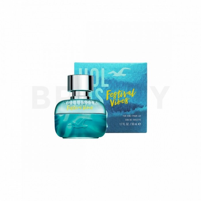 Hollister Festival Vibes for Him Eau de Toilette bărbați 50 ml