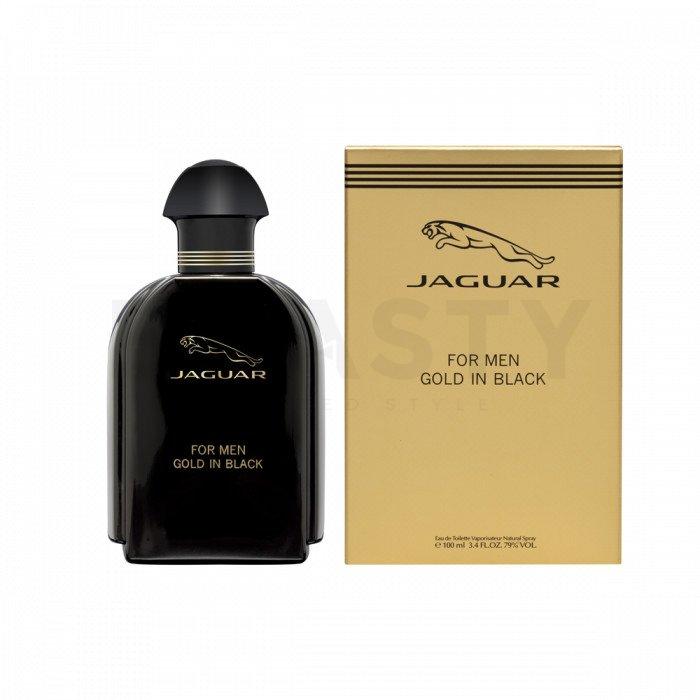 Jaguar For Men Gold in Black Eau de Toilette bărbați 100 ml