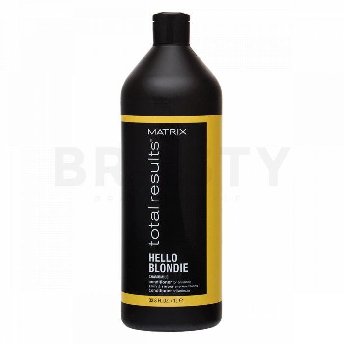 Matrix Total Results Hello Blondie Conditioner balsam pentru păr blond 1000 ml
