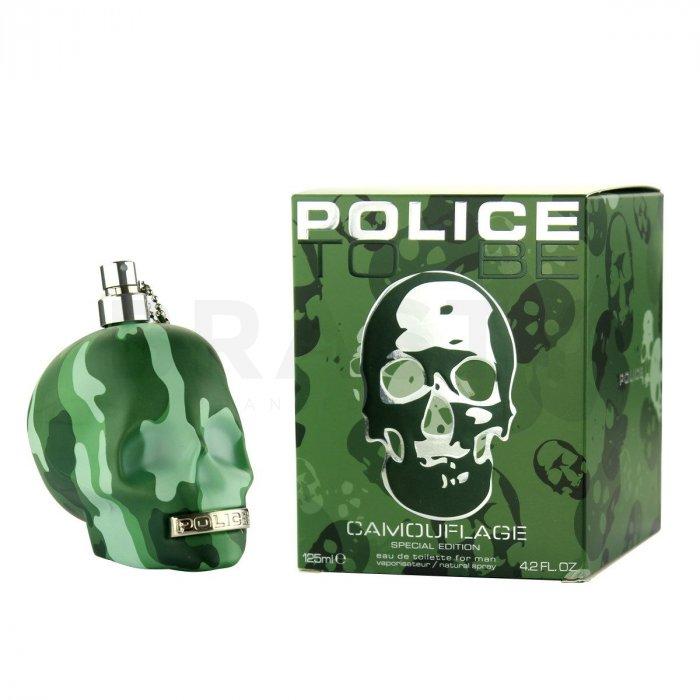 Police To Be Camouflage Eau de Toilette bărbați 10 ml Eșantion