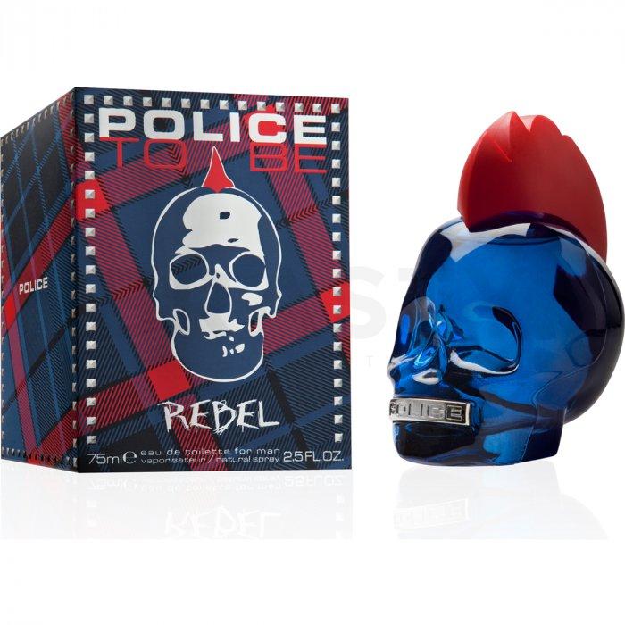 Police To Be Rebel Eau de Toilette bărbați 10 ml Eșantion