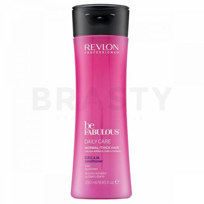 Revlon Professional Be Fabulous Normal/Thick C.R.E.A.M. Conditioner balsam pentru întărire par normal si des 250 ml