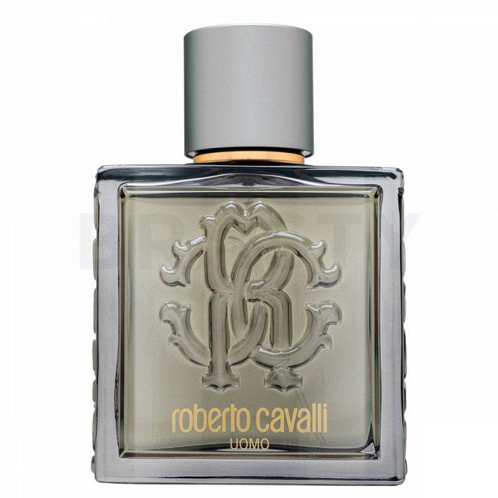 Roberto Cavalli Uomo Silver Essence Eau de Toilette bărbați 10 ml Eșantion