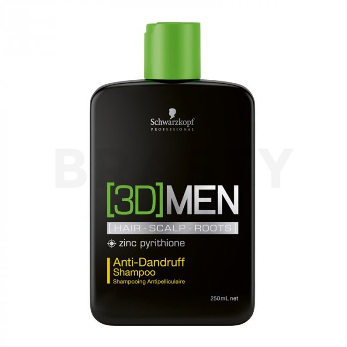 Schwarzkopf Professional 3DMEN sampon anti mătreată 250 ml