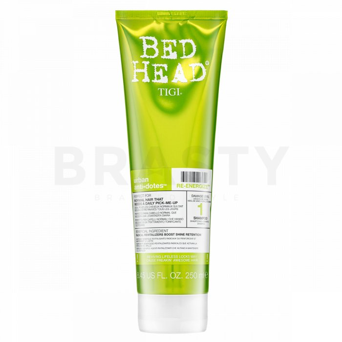 Tigi Bed Head Urban Antidotes Re-Energize Shampoo sampon hranitor pentru folosirea zilnică 250 ml