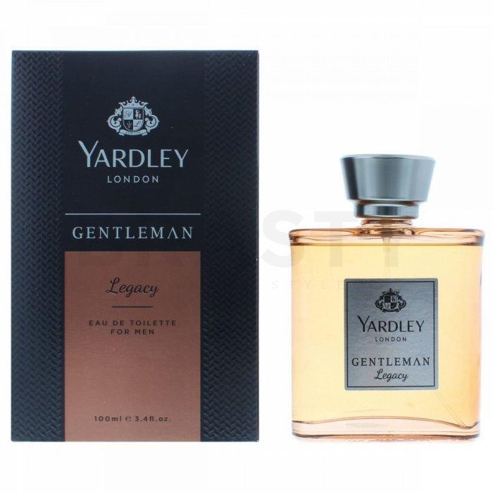 Yardley Gentleman Legacy Eau de Toilette bărbați 100 ml