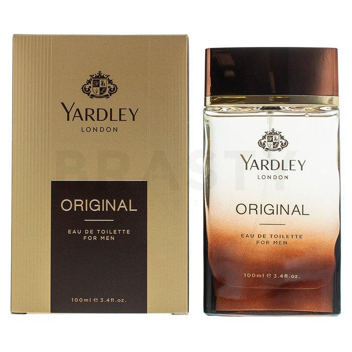 Yardley Original Eau de Toilette bărbați 100 ml